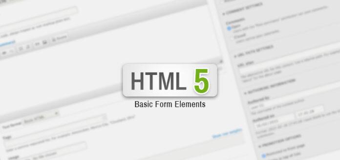 HTML5 Basic