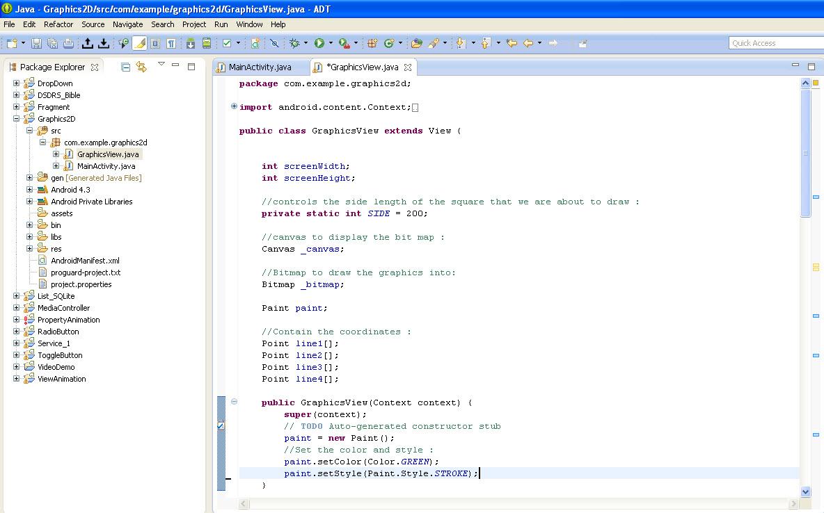 Implementing 2D - Graphics - Eduonix Blog