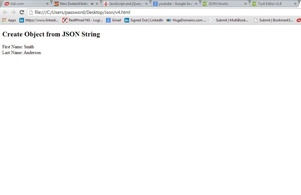 Learn to create a simple object using - Json - Eduonix Blog