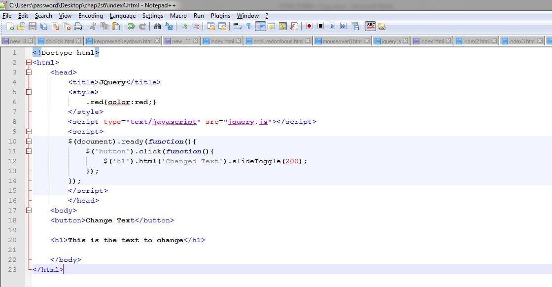 Learning the basics of jQuery - Eduonix Blog