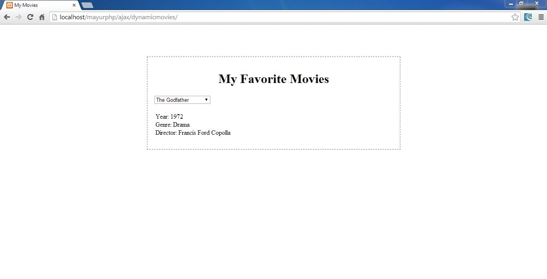 Create a simple project using Ajax , Json & JavaScript - Eduonix Blog