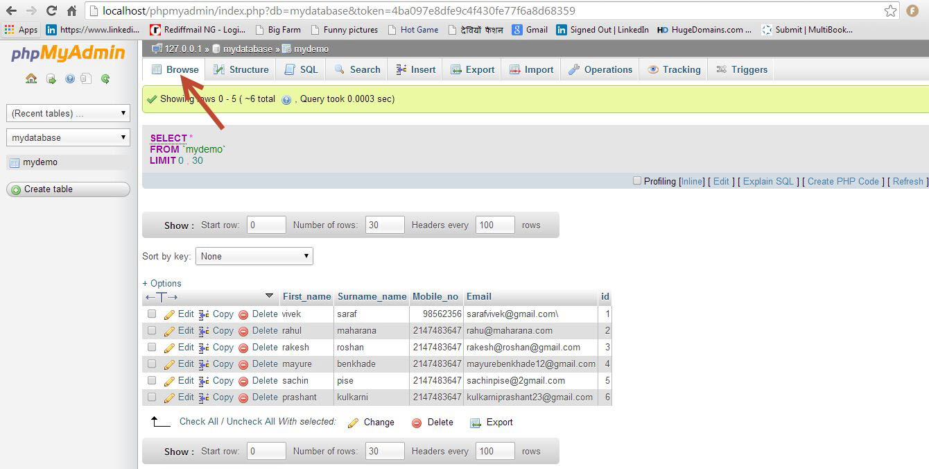 Learn basic operations of MySQL on Xampp Server - Eduonix Blog