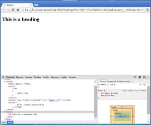 pasting_the_jquery_code_of_class_red_in_head_section