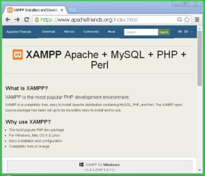 xampp_server_website