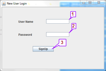 Learn to create sign up page along with database