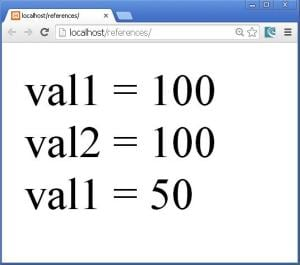 changed_value_in_$val2_accessed_by_$val1