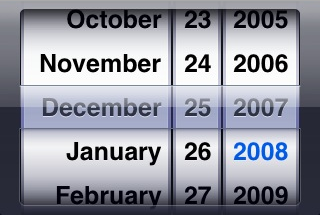 How to use date picker component in java