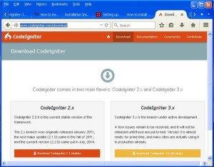 codeigniter_website