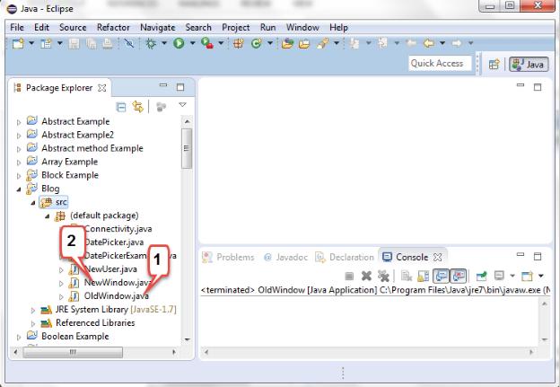Learn to create multiple frames in java - Eduonix org | Blog