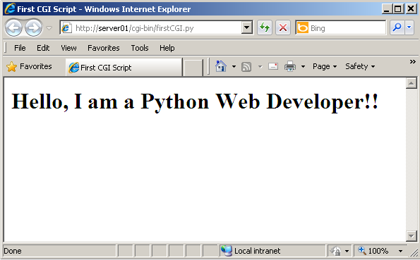 Learn how to use Python as a Web Developing Language - Eduonix Blog