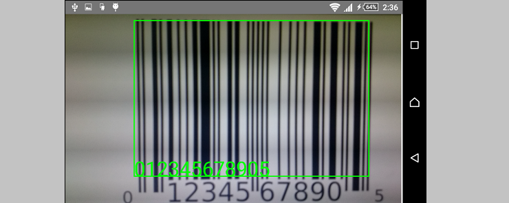 Barcode detection