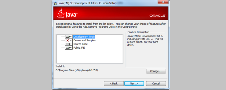 Setting up Java