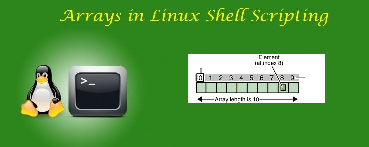 arrays in linux shell scripting