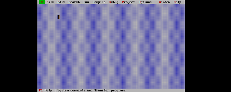 A Quick Tour in Turbo C++