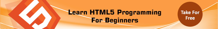 Learn HTML5 Programming For Beginners