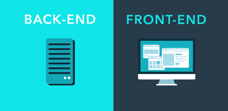 backend frontend