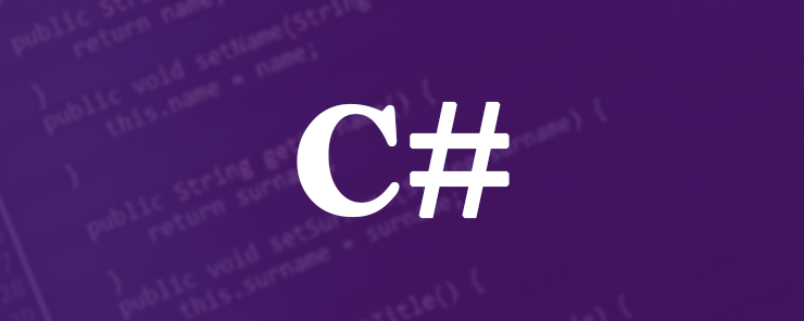 C# (12) - More on Functions 740X296