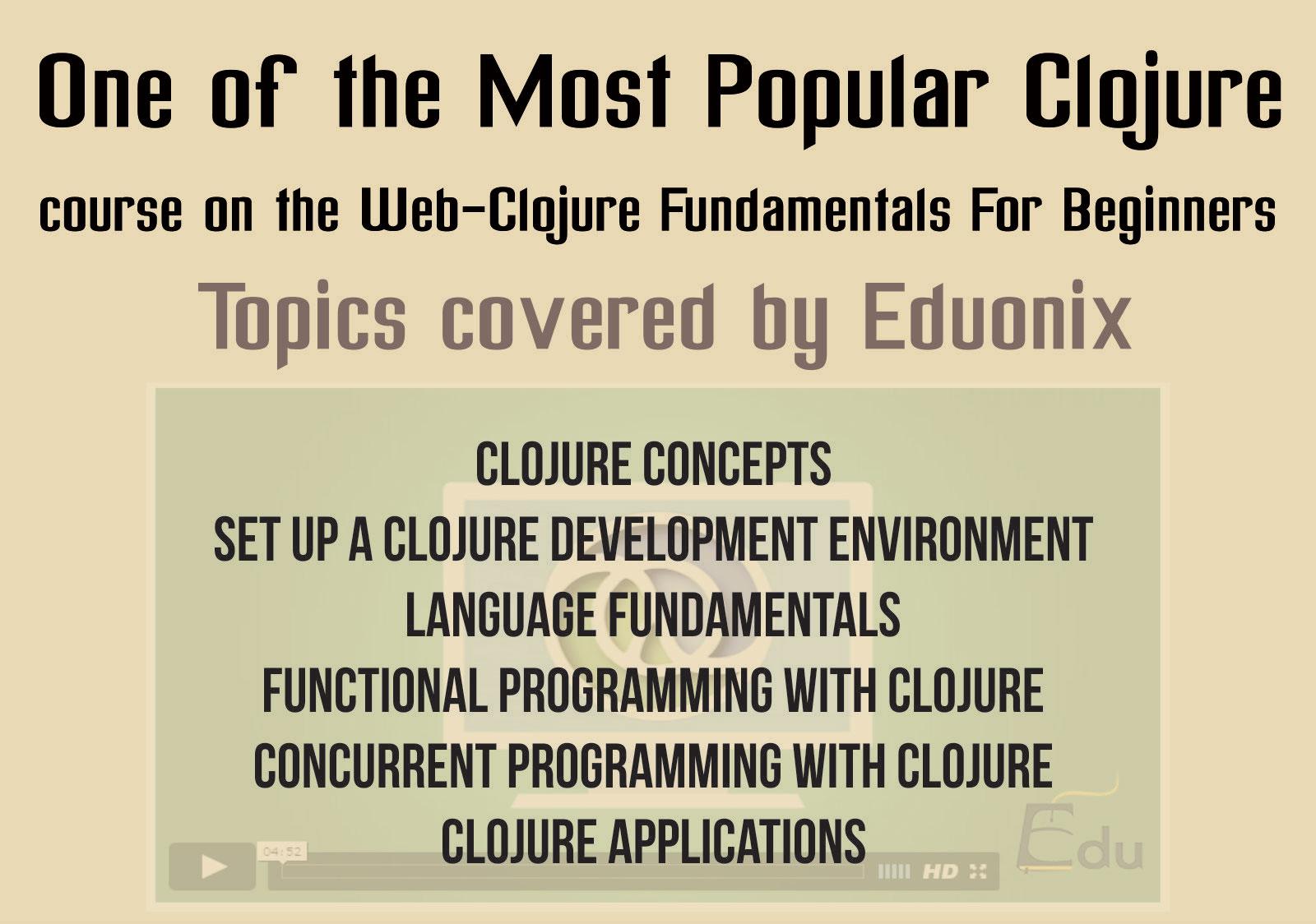 Clojure popular course