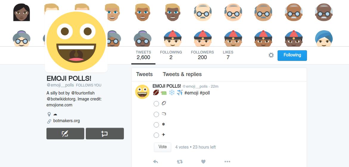 Emoji Polls