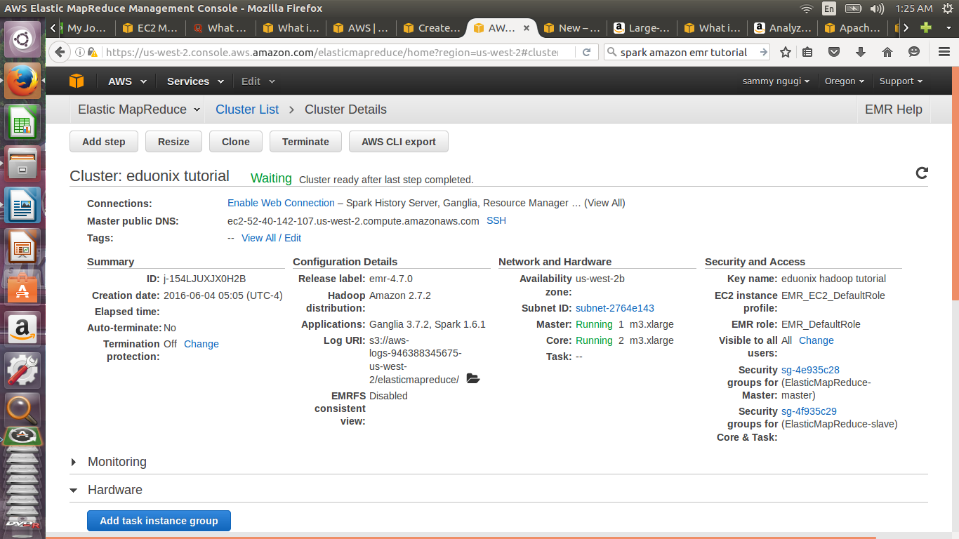 Learn How To Process Data Using Spark On Amazon Elastic Mapreduce