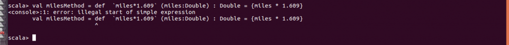 error method