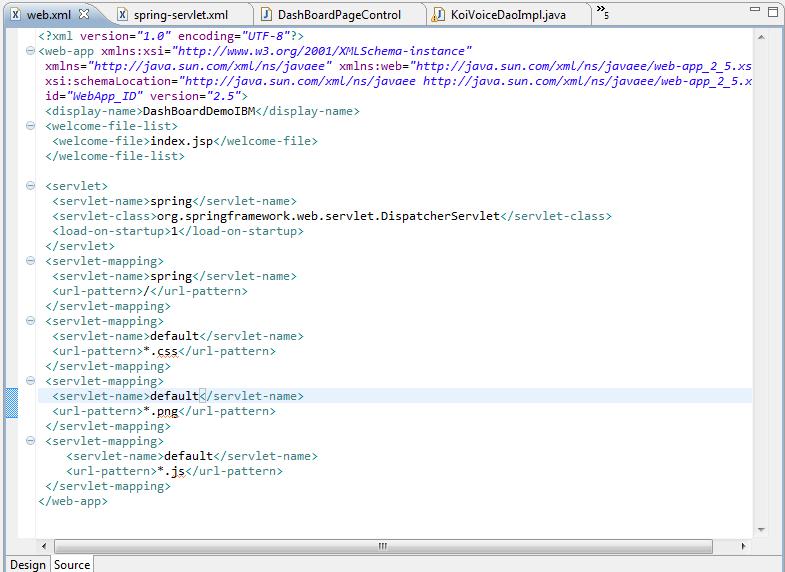 Web Xml file
