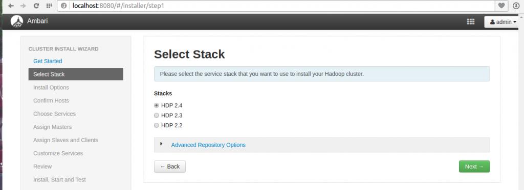 select stack