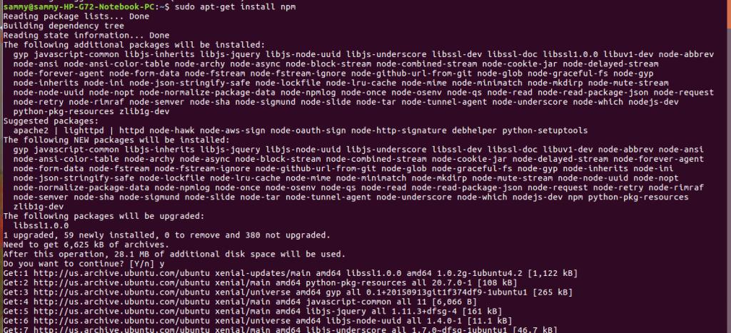 install-npm