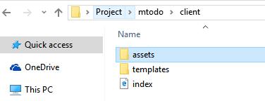 client-folder