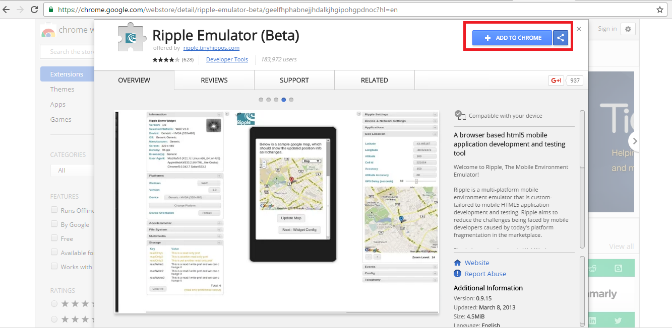 ripple-emulator-extension