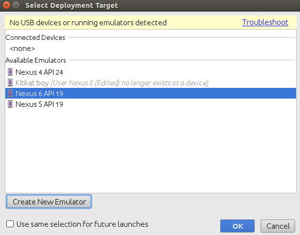 select-deployment-target