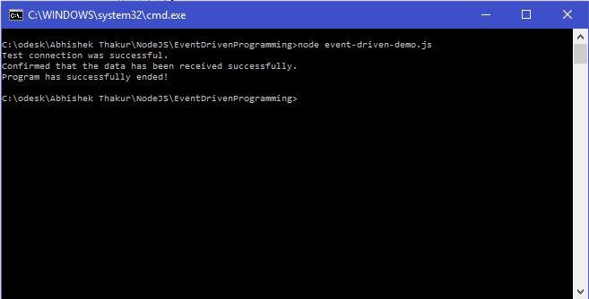 EventDrivenProgramming