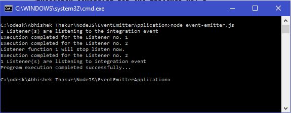 EventEmitterApplication