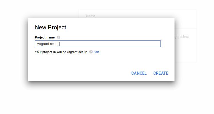 create proj