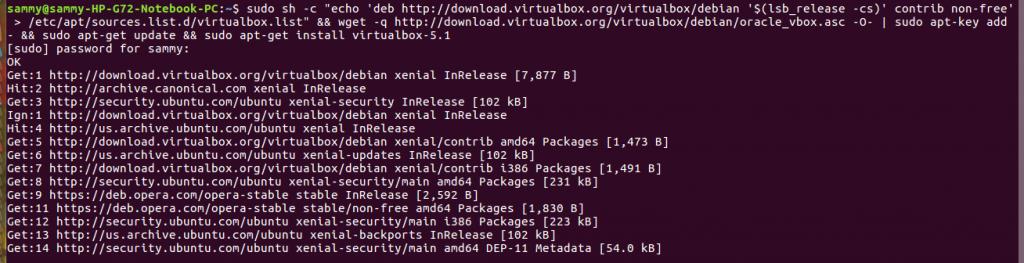 install vbox