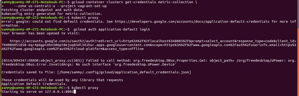 configure cluster