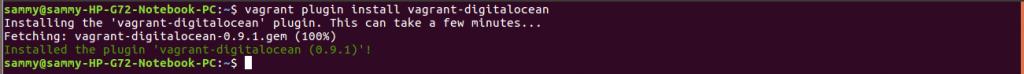 instal do plugin