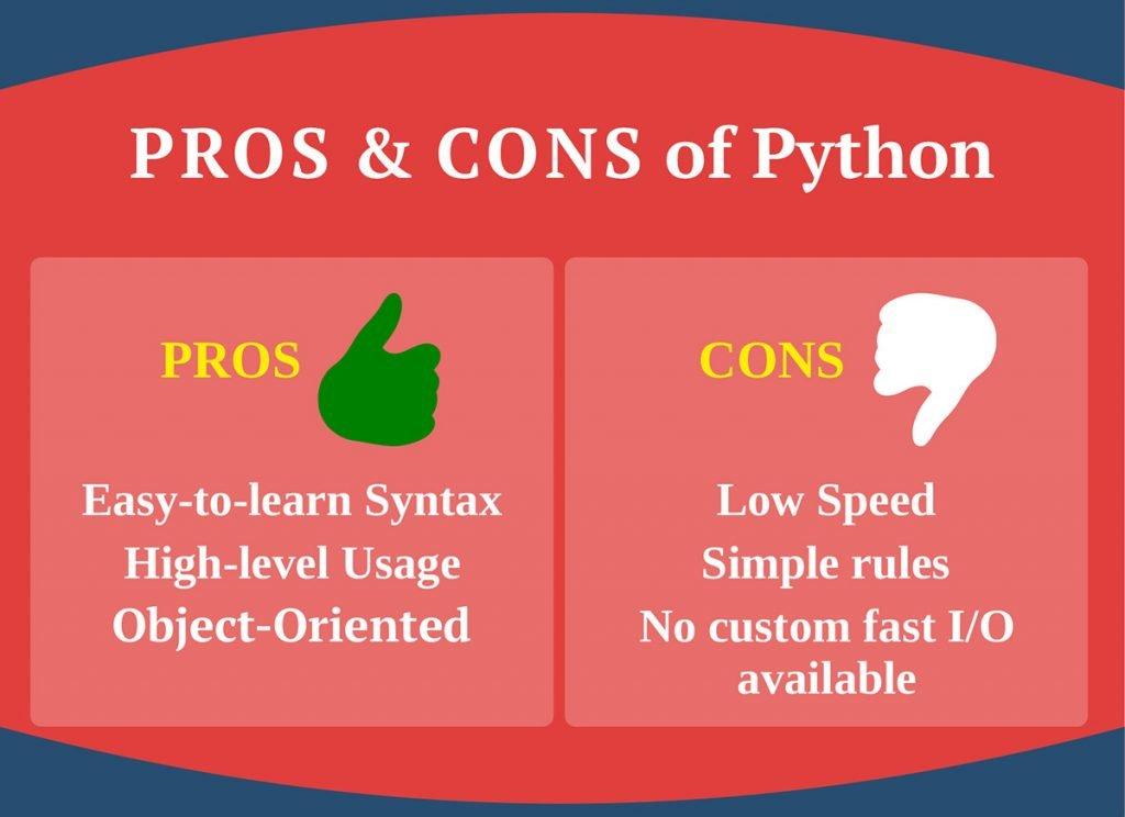 Pros & Cons of Python