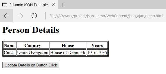 Eduonix JSON Ex 2