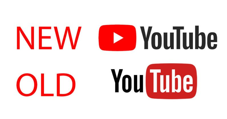 New & Old logo of Youtube