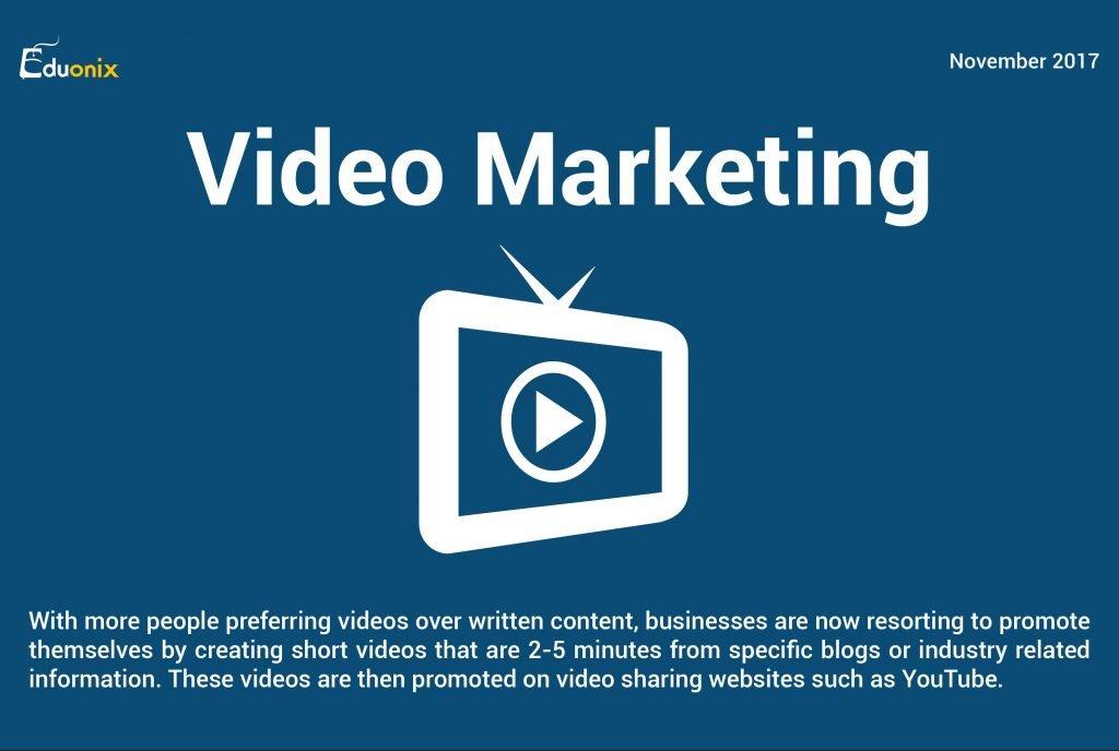 Info on Video Marketing