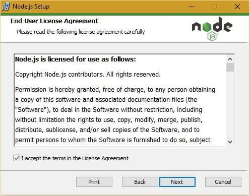 node agreement