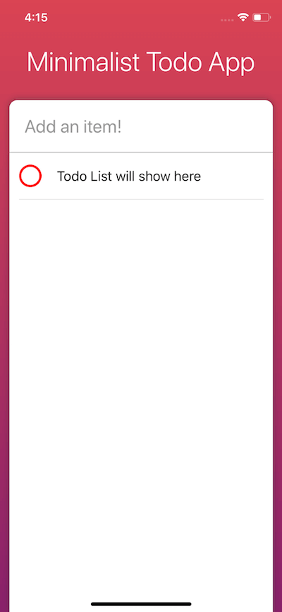 Add-item-todo-list