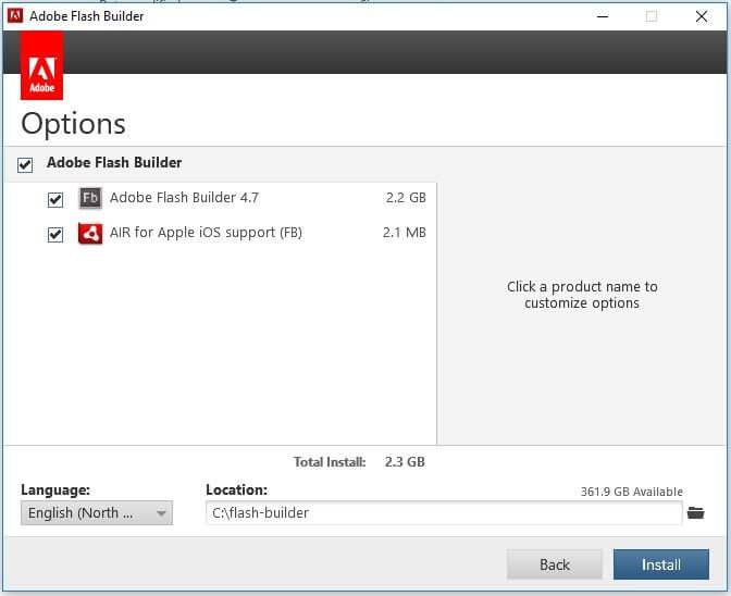 Adobe builder 4.7