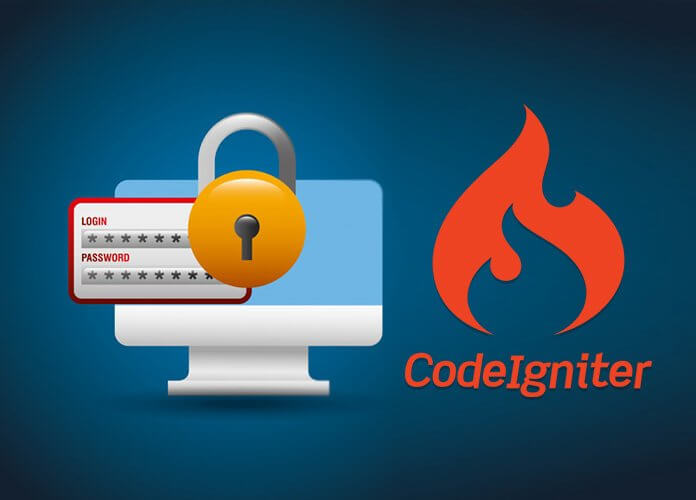 codeigniter simple login system