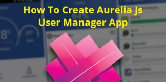 Aurelia Js User Manager App