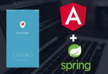 Angular JS & Spring Data JPA