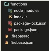 Firebase inits functions