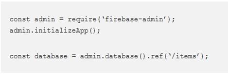 Setup the Database