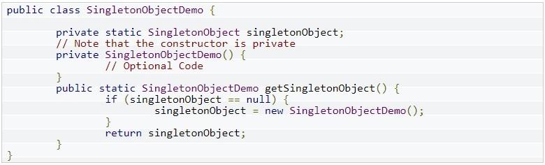 Singleton Object